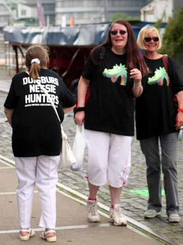 Nessie Hunters with Official T-Shirt